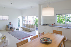Stunning Architecturally Designed Apartment With Balcony in Basel Neighborhood