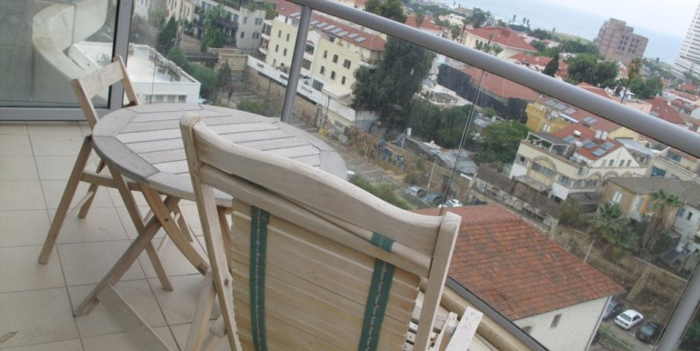 Neve Tzedek Tower Balcony Sea View-min
