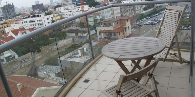 Neve Tzedek Tower Balcony-min