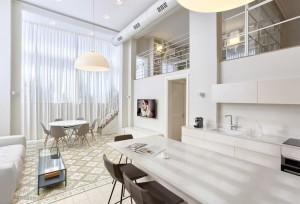 Hovevey Tzion Kitchen & Living Room