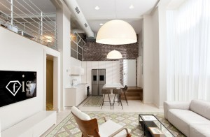 Hovevey Tzion Living Room & Kitchen