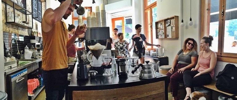 Top 5 Happiest Places To Drink Coffee In TLV