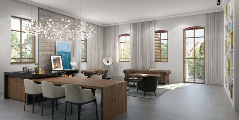 yehuda ha levi living room 1