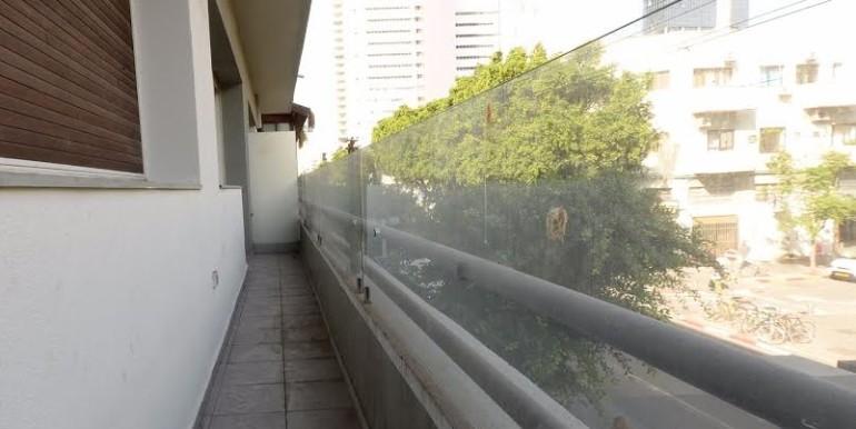 Allenby 138 balcony