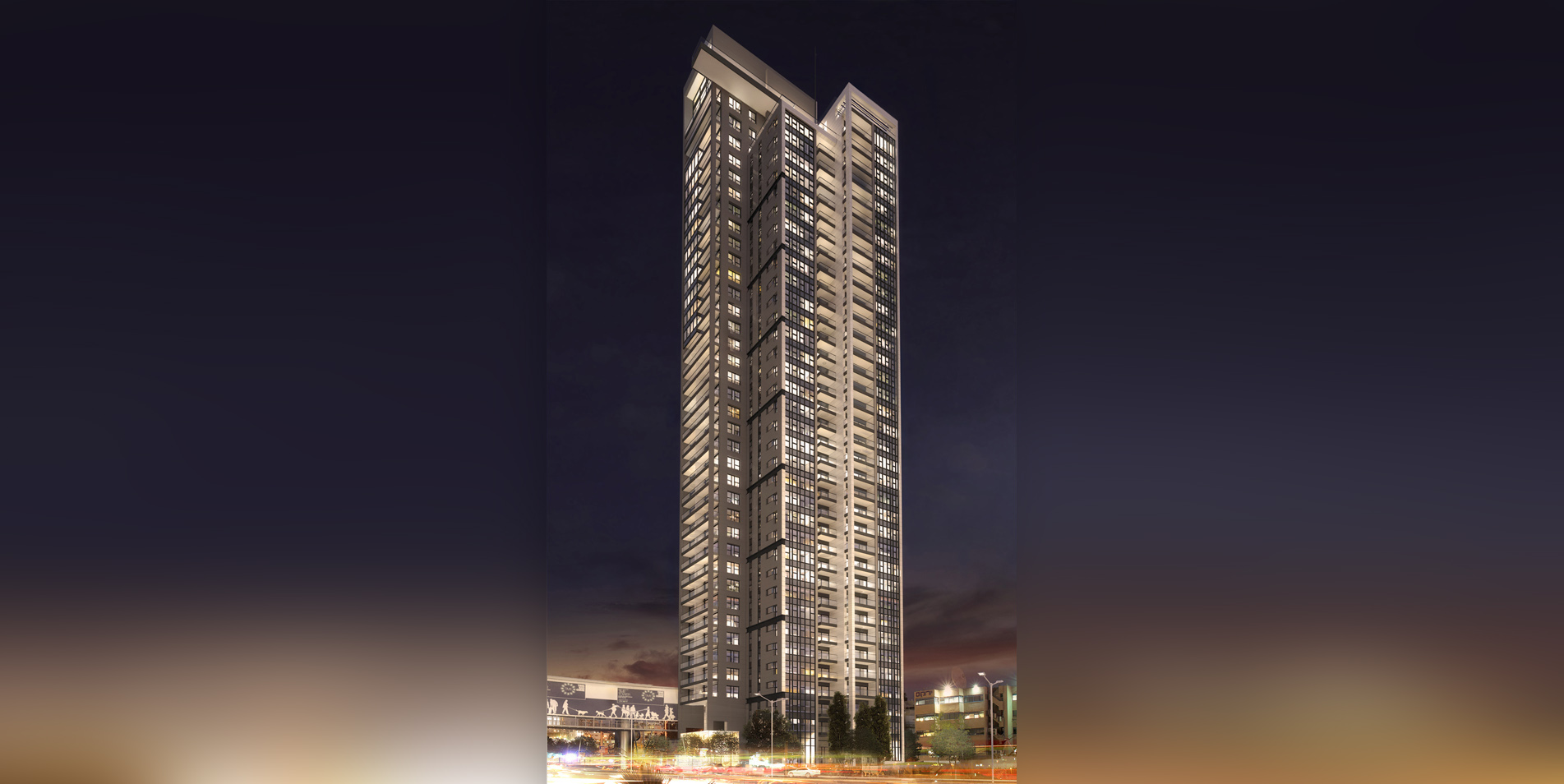 BEAUTIFUL DESIGN APARMTENT ON HIGH FLOOR IN EXLUSIVE TOWER!