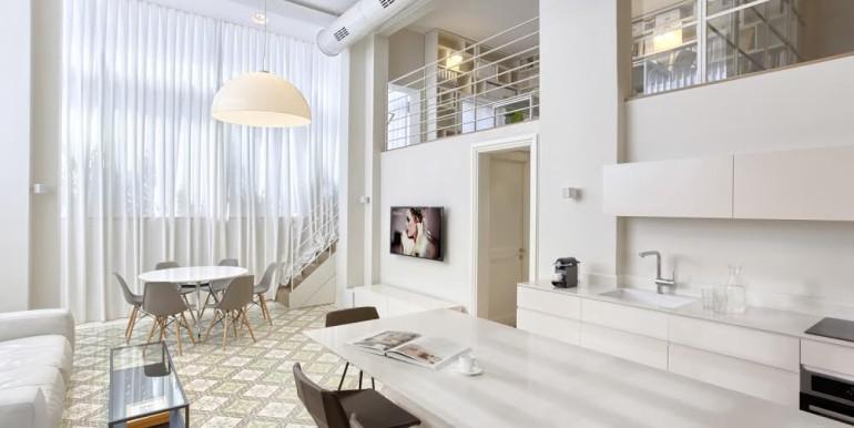 Hovevey Tzion Kitchen & Living Room-min