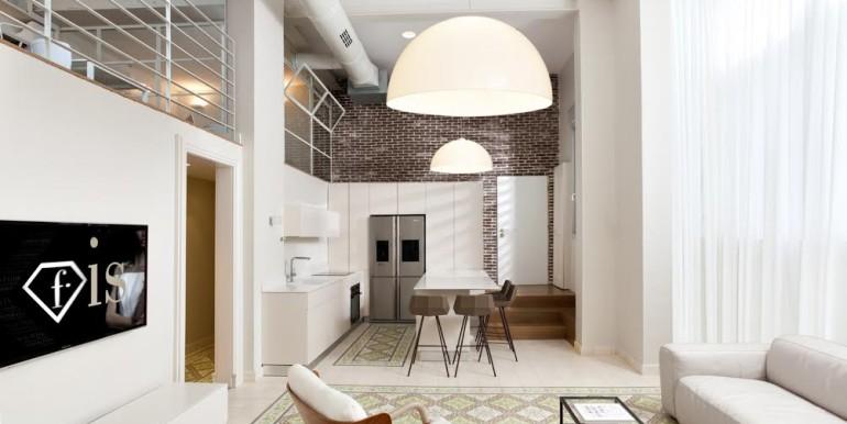 Hovevey Tzion Living Room & Kitchen-min