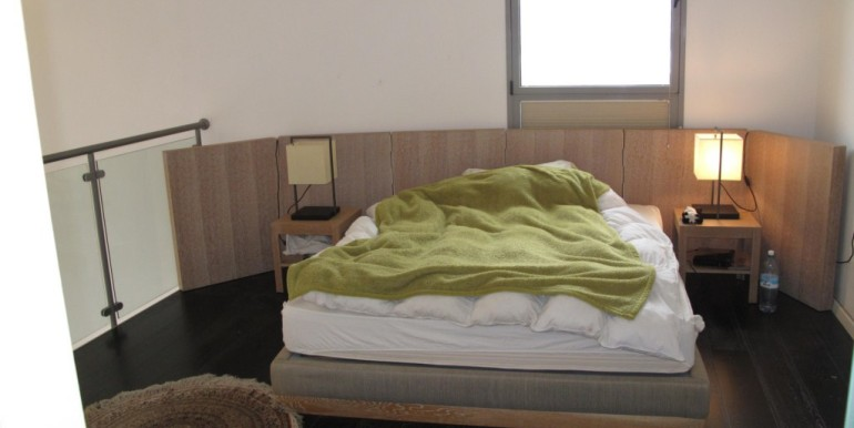Neve Tzedek Tower Bedroom Furnished-min