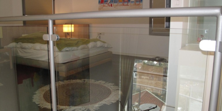 Neve Tzedek Tower Loft Bedroom-min