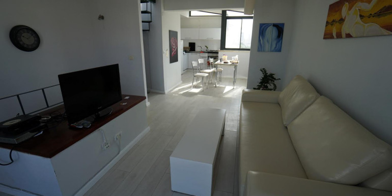 Ben Yehuda living room