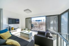 Stunning rooftop apt. on Ben Yehuda, close to the beach