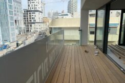 Brand new high quality design & furnished apt with sea view on Hayarkon st.!