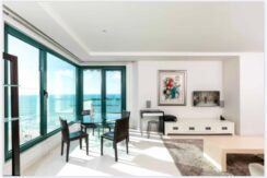 Stunning 2 bedroom apt in a luxury tower on Herbert Samuel st. with scenery sea view!