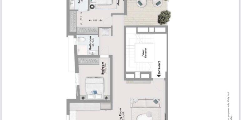 Montefiori 16 penthouse