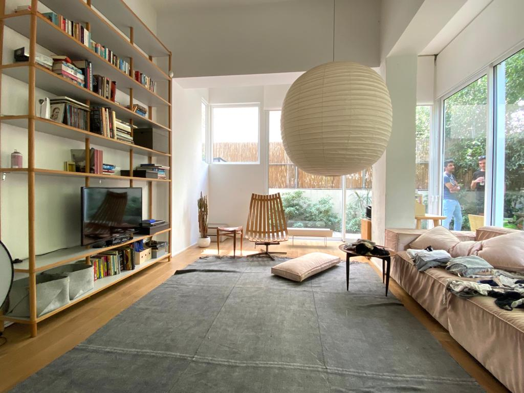 Beautiful Garden Apartment in a Small Street by Dizengoff Square